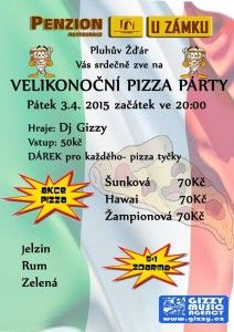 Pizza Party Pluhův Žďár